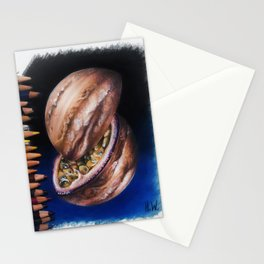 """Jupiter Passionfruit"" Drawing Stationery Cards"