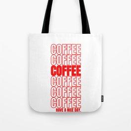 Coffee Gift Cappuccino Macchiato Espresso Tote Bag