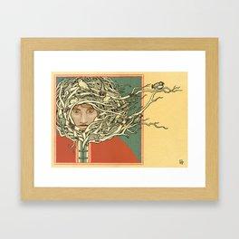 Tangled Eskimo Framed Art Print
