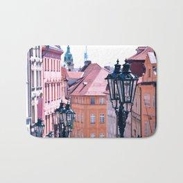 Pink Prague Bath Mat