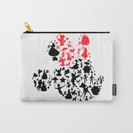 Girl mouse with the red bow Carry-All Pouch