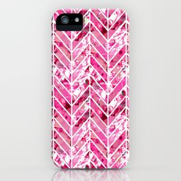 Cherry Bomb Chevron iPhone Case