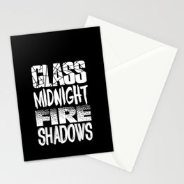 Throne of Glass Series Titles Stationery Cards