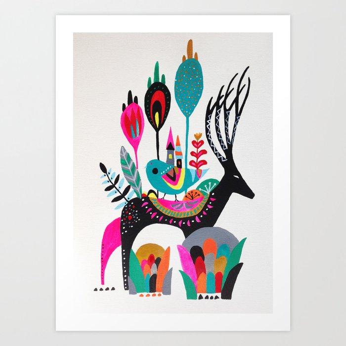 Move house Art Print