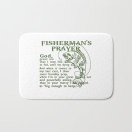 Fisherman's Prayer Bath Mat
