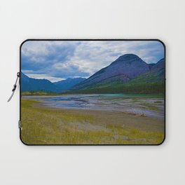 Morrow Peak & the Athabasca River in Jasper National Park, Canada Laptop Sleeve