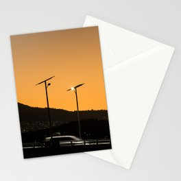 Highway Sunset Stationery Cards