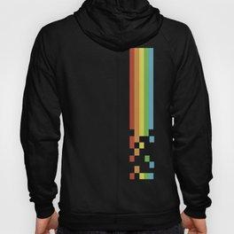 1980s Colorful Vintage Bitmap Pixel Hoody
