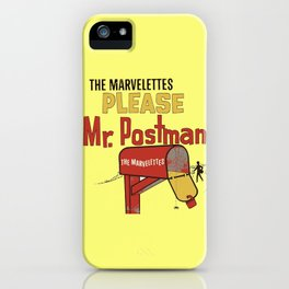 Mr. Postman iPhone Case