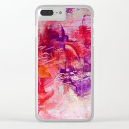 Violet ballet Clear iPhone Case