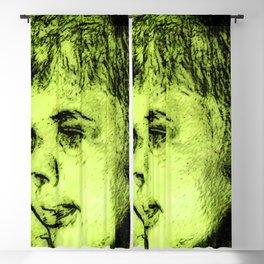 Portrait of a Boy Blackout Curtain