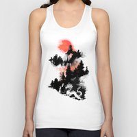 budi Tank Tops featuring Samurai's life by Picomodi