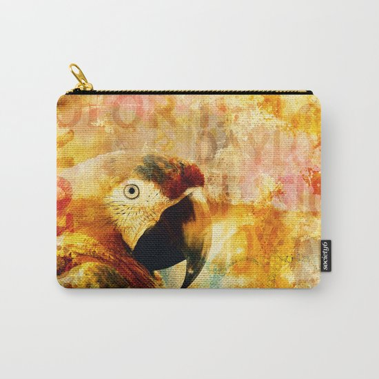 Crazy Parrot Carry-All Pouch