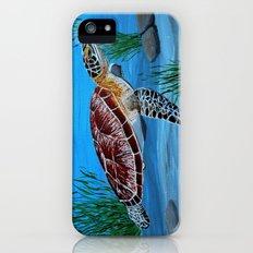 Sea turtle  iPhone (5, 5s) Slim Case