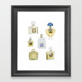 Guerlain Fragrances Framed Art Print