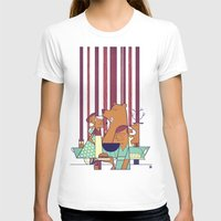 50s T-shirts featuring Barbecue by Ale Giorgini