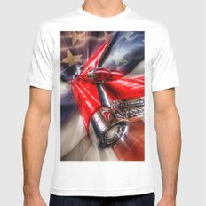Caddy dream White MEDIUM Mens Fitted Tee