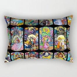 A Small World... Rectangular Pillow