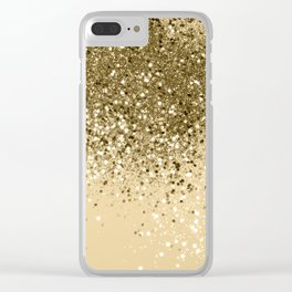 Cali Summer Vibes Lady Glitter #1 #shiny #decor #art #society6 Clear iPhone Case