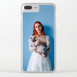portrait of hobbes & vashti Clear iPhone Case