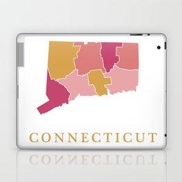 Connecticut map Laptop & iPad Skin