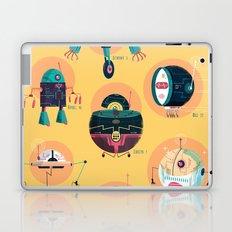 :::Mini Robots::: Laptop & iPad Skin
