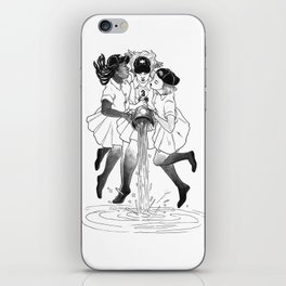 3 OF CUPS iPhone Skin