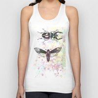 bugs Tank Tops featuring Bugs! by Maria Enache