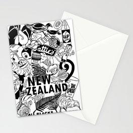 Kiwiana Doodle Stationery Cards