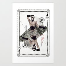 Jack of Carbon Art Print