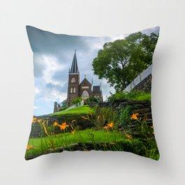 St. Peter's Roman Catholic Throw Pillow
