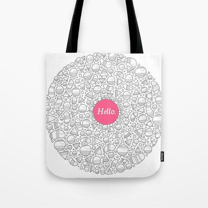 Hello Tote Bag