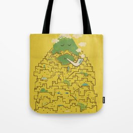 The Bearded City Tote Bag