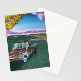 Flower Truck Stationery Cards