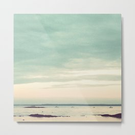 Rye Beach 2 Metal Print