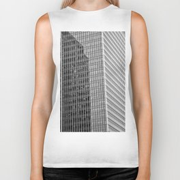 Canary Wharf  Abstract Biker Tank