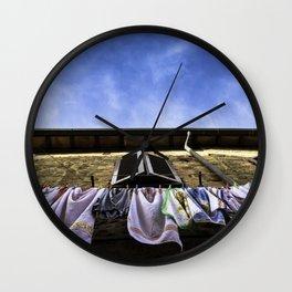 Ecosustainable Dryer Wall Clock