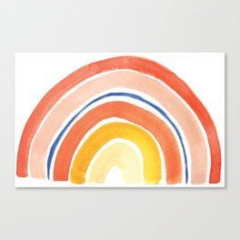 Desert Rainbow Canvas Print