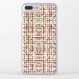 Christmas 23 a Clear iPhone Case
