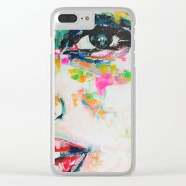 I Think it is Going to Rain Today Clear iPhone Case
