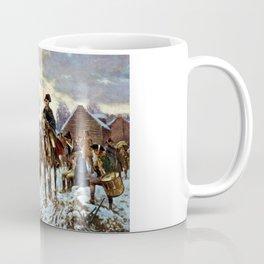 Washington At Valley Forge Coffee Mug