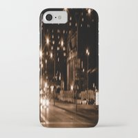 montreal iPhone & iPod Cases featuring Montreal Nights by Erin McClain Studio