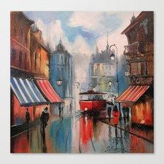 Evening Prague Canvas Print