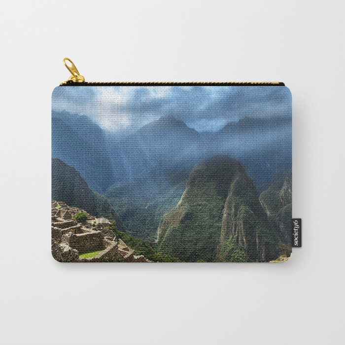 Lost City of the Incas Machu Picchu Carry-All Pouch