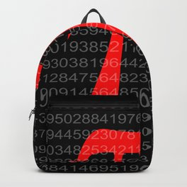 The Constant Pi Backpack