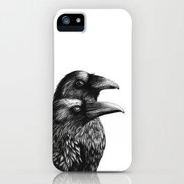 Huginn & Muninn iPhone Case