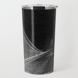 Golden Gate Abstract Travel Mug