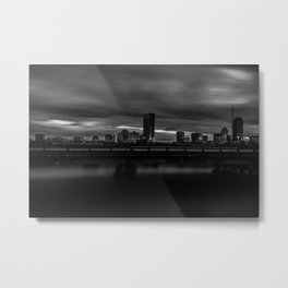 Long Exposure of Boston Metal Print