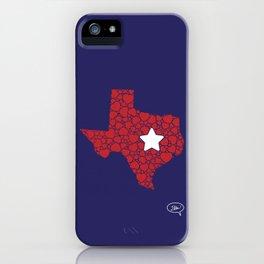 Lonestar Love iPhone Case