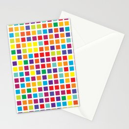City Blocks - Rainbow #494 Stationery Cards